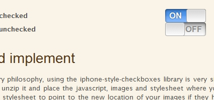 iPhone Style Checkboxes