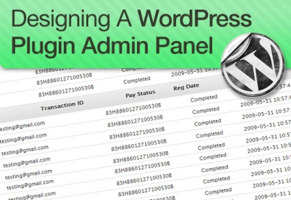 How to Design and Style Your WordPress Plugin Admin  Panel
