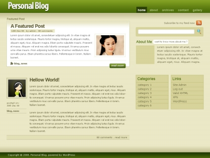 http://themetation.com/2008/07/14/how-to-create-wordpress-themes-from-scratch-part-1/