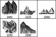 Mountains Brushes