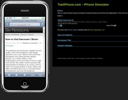 Test iPhone