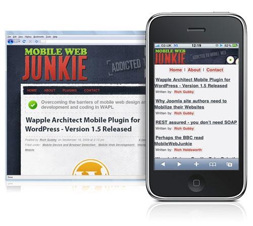 Wapple Architect Mobile Plugin