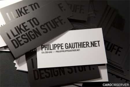 Double-Sided Business Cards