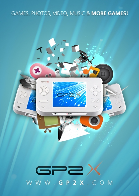 Design a Portable Gaming Device Poster