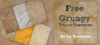 Grungy Paper Textures