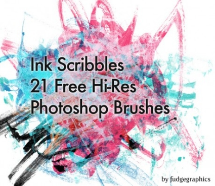 Ink Scribble Brushes