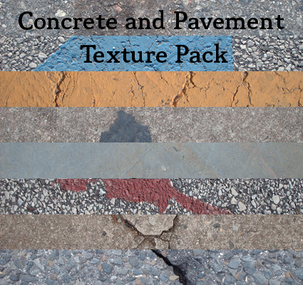 Concrete and Pavement Texture Pack