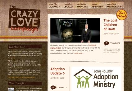 The Crazy Love Campaign