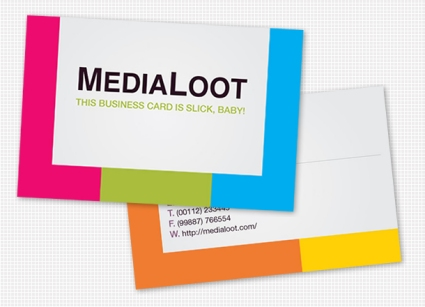 How  to Create a Colorful Business Card Template in Illustrator CS4