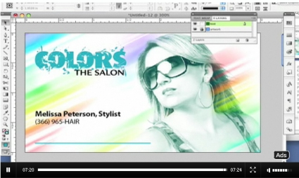 Designing  a Business Card in InDesign