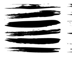 Paint  Brush Style Illustrator Brushes