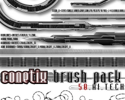 Conetix Brushes