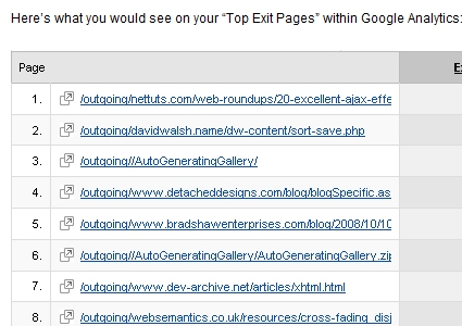 Using MooTools to Instruct Google Analytics to Track Outbound Links