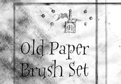Old Paper Brushes