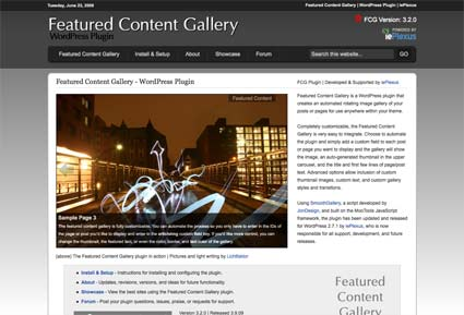 Featured Content Gallery