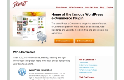 WordPress e-Commerce Plugin