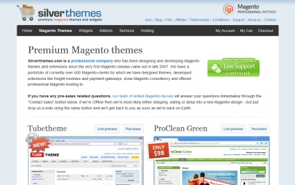 Silver Themes