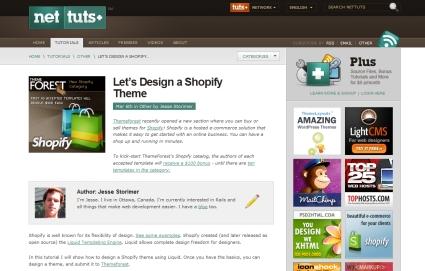 Let's Design a Shopify Theme