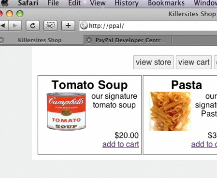 Build a PHP Shopping Cart with PayPal Integration