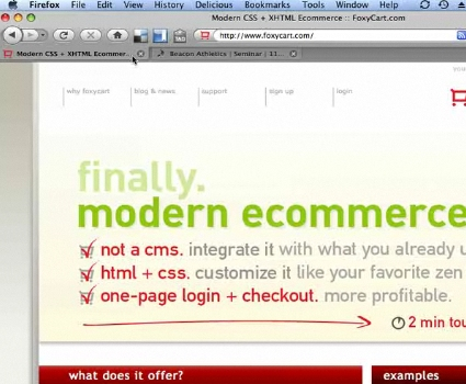 Using FoxyCart for eCommerce