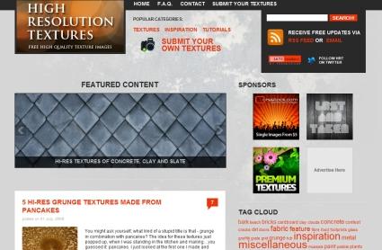 High Resolution Textures