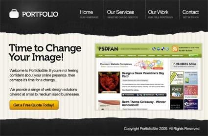 Create a Professional Portfolio Design