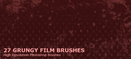 Grungy Film Brushes