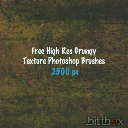 High Res Grunge Brushes