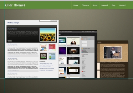 Photoshop Tutorial: theme marketplace layout