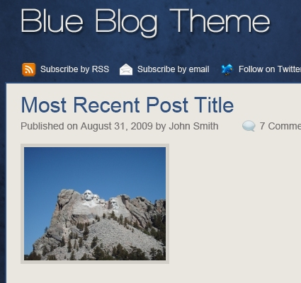 Blog Layout Tutorial for Photoshop