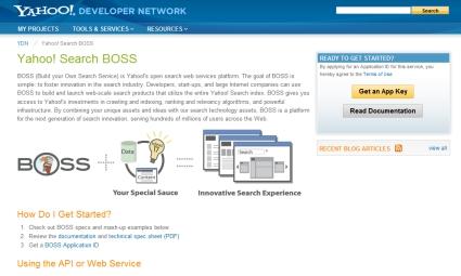 Yahoo! Search BOSS