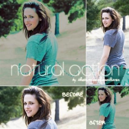 Kristen Natural Action