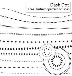 Dash Dot Brushes