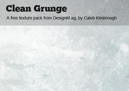 Clean Grunge Texture Pack