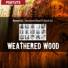 Weathered Wood Brushes
