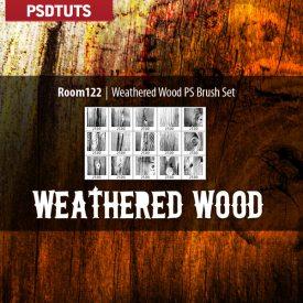 Weathered Wood Brushes