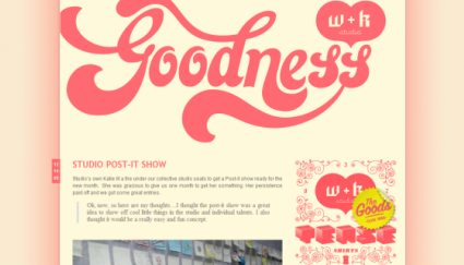 W + K Studio Blog