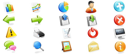 Web Application Icon Set