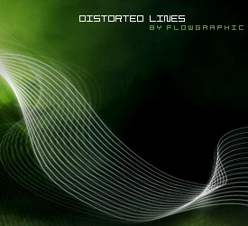Distorted Lines Brushes