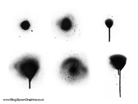 High Res Spray Paint Brushes Set Two