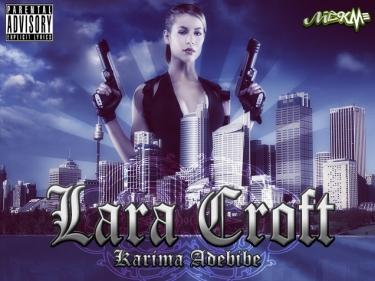 Lara Croft Album Art