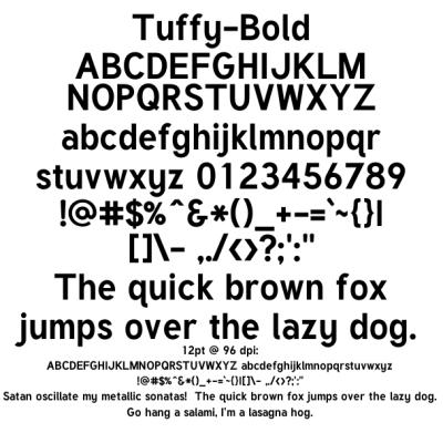 Tuffy Bold