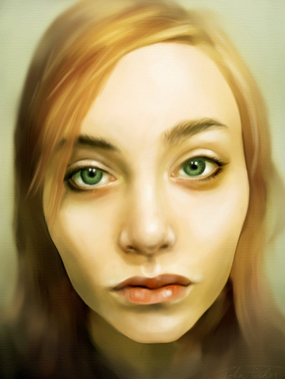 digital painting portrait