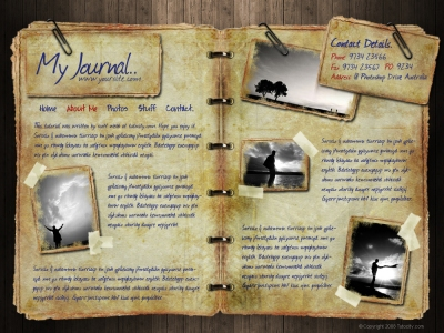 Journal Web Design
