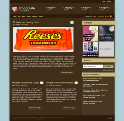 Chocolate Pro Layout