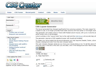 CSS Creator