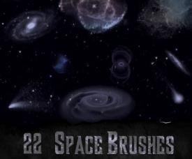 Photoshop Space Brushes