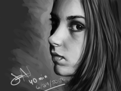 speed painting video