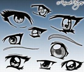 anime eyes