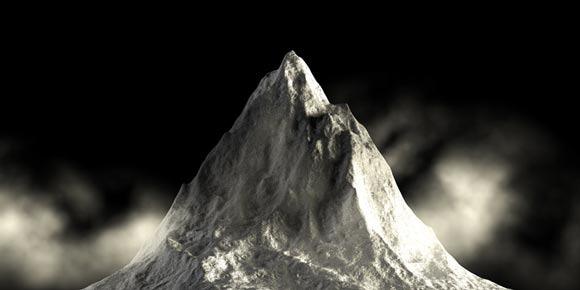 3d-mountain